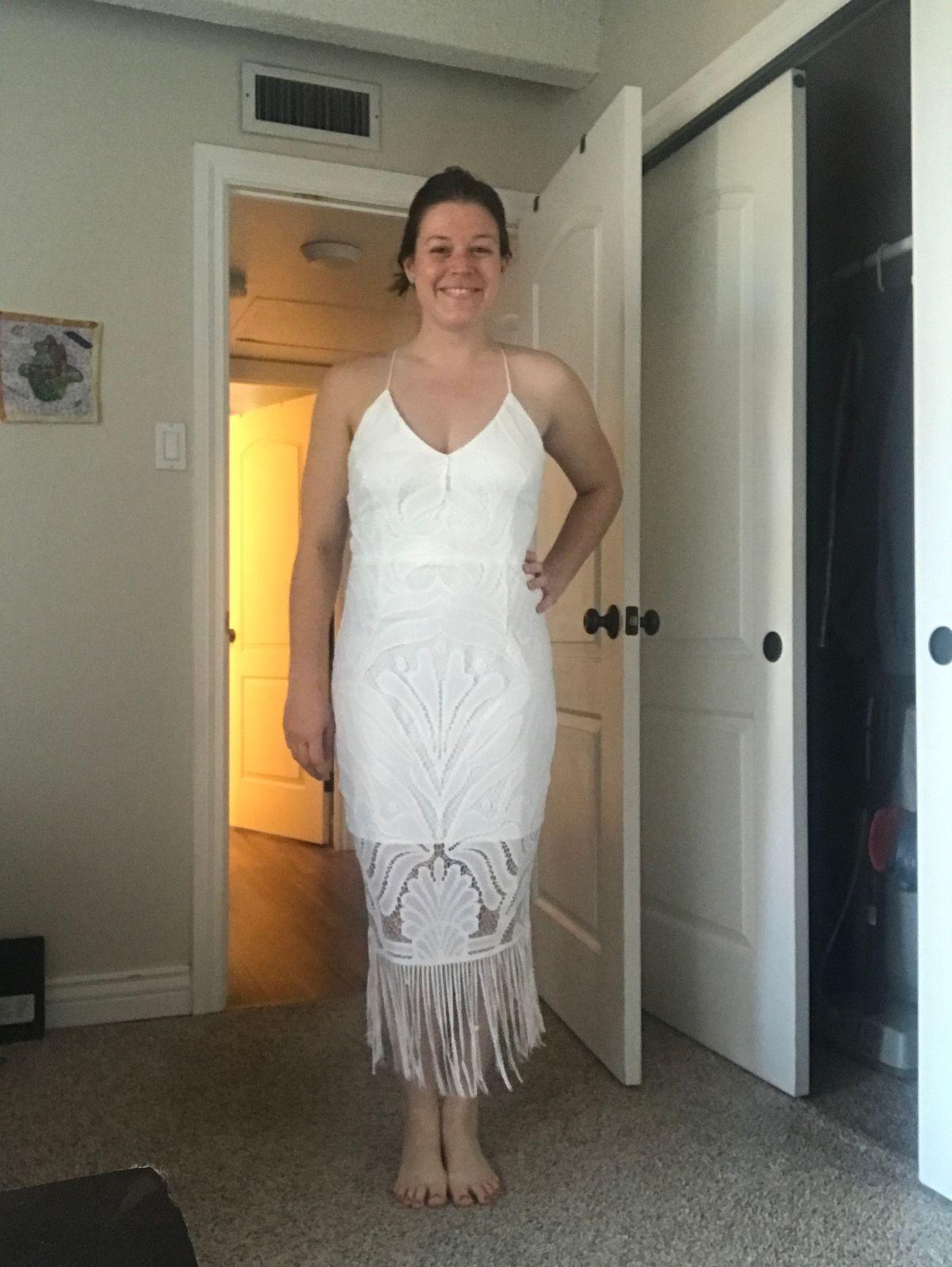 11f4630f52a Khaleesi Dress - White (PRE-ORDER) – Twosister s The Label