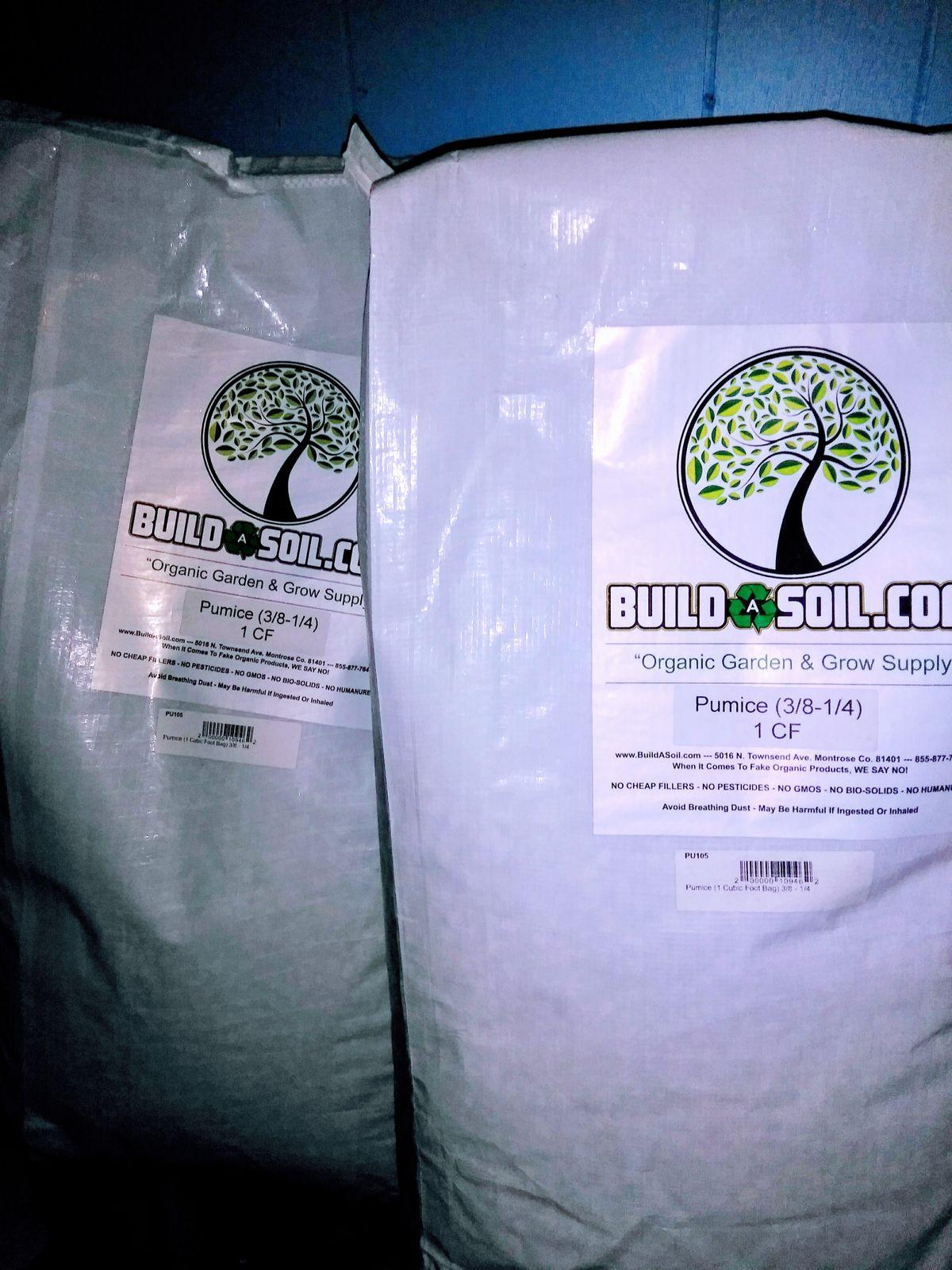 Pumice Buildasoil
