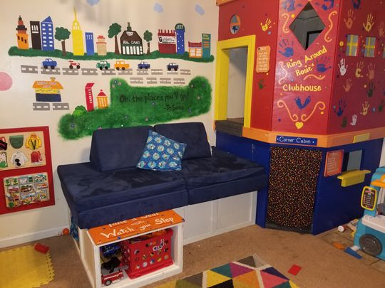 The Nugget   The original play couch   Free U.S. Shipping
