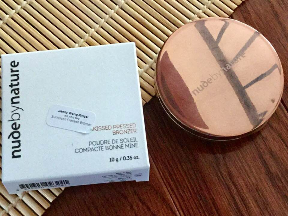 Matte Pressed Bronzer - Nude by Nature UK