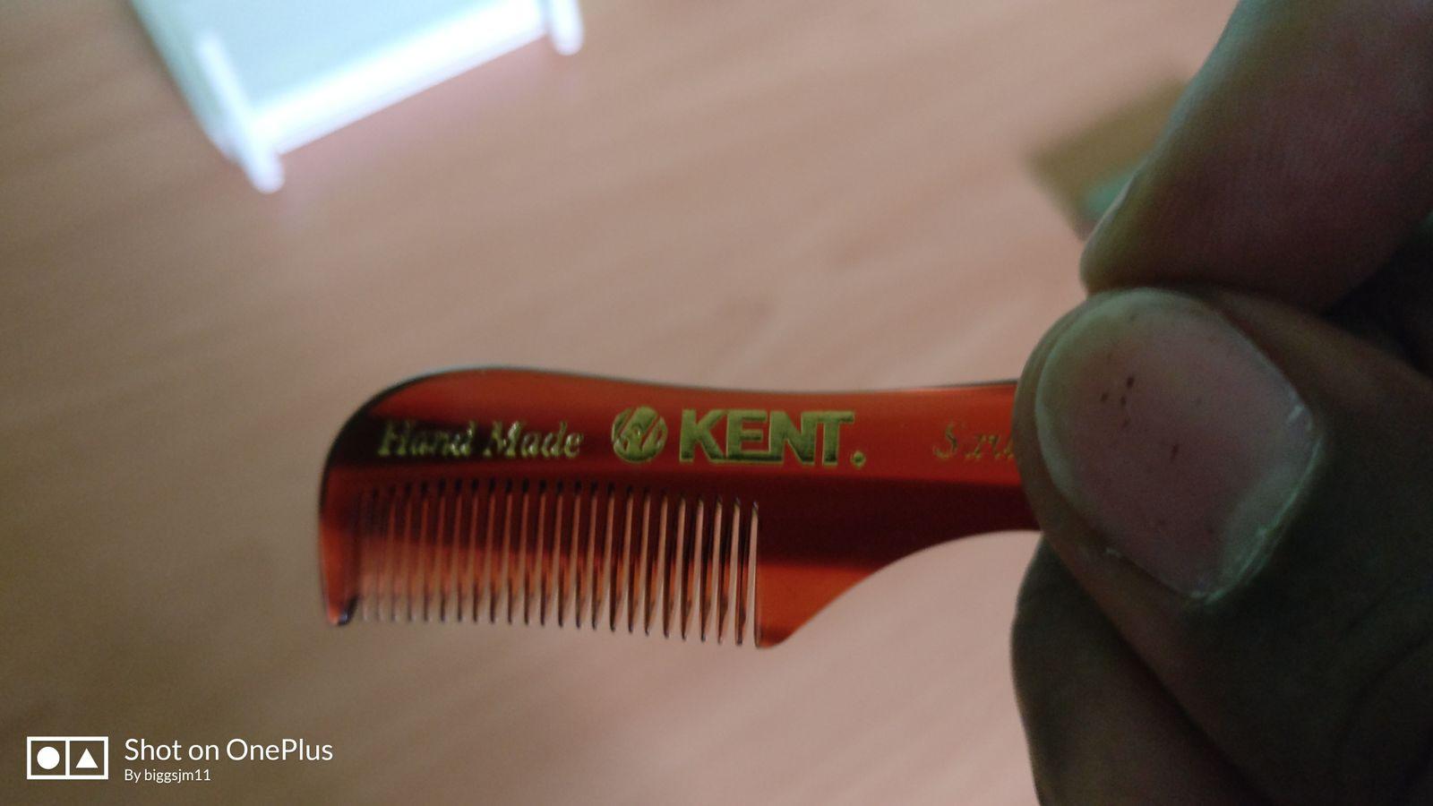 Kent Mustache Comb
