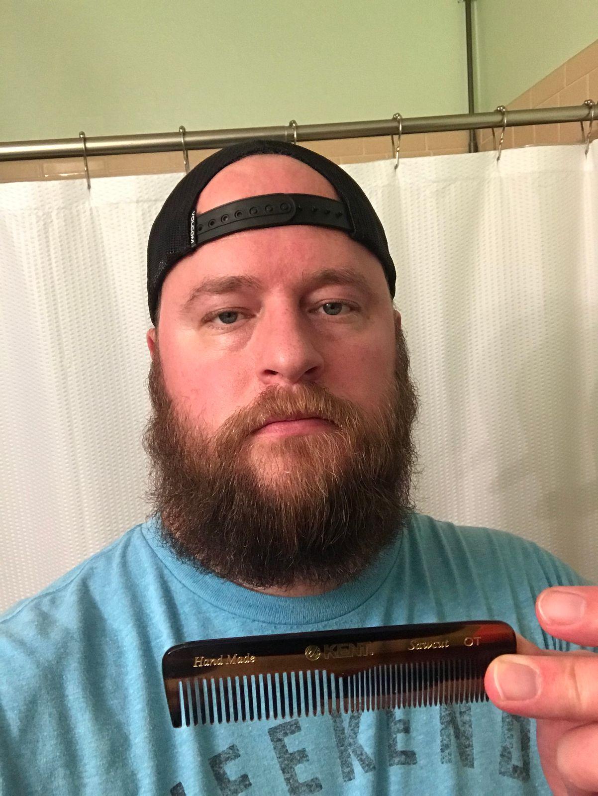 Kent Pocket Beard Comb