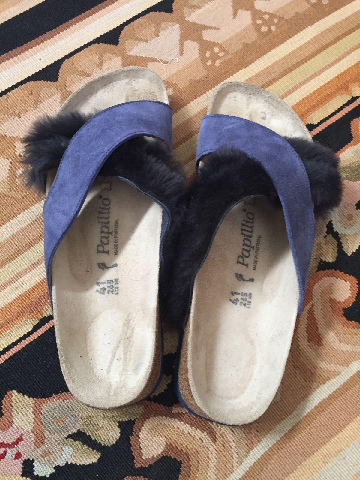 0e7489828698 Birkenstock Papillio Daytona Suede Leather Fur Sandals – Proozy