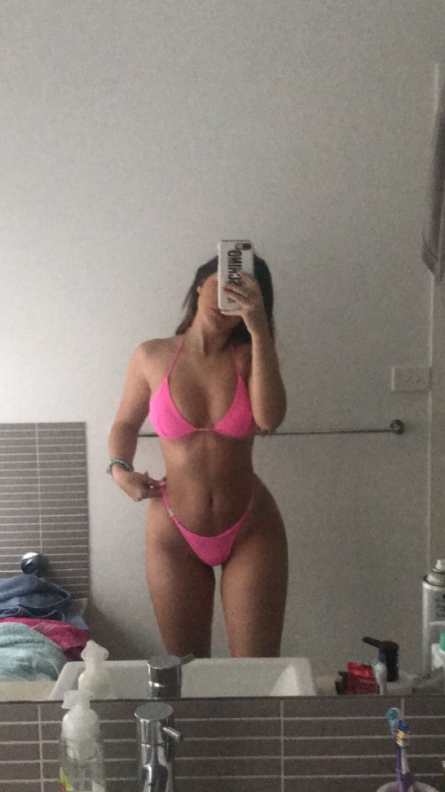 bottoms side Bikini clips w
